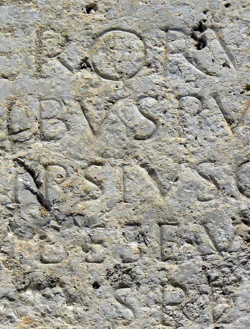 Visuel 2/2 : Epitaphe bachique de Publicius Callistus