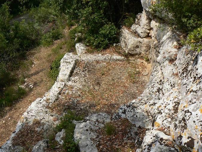 Visuel 1/2 : Cuves vinaires (?) au Val des Nymphes à La Garde-Adhémar