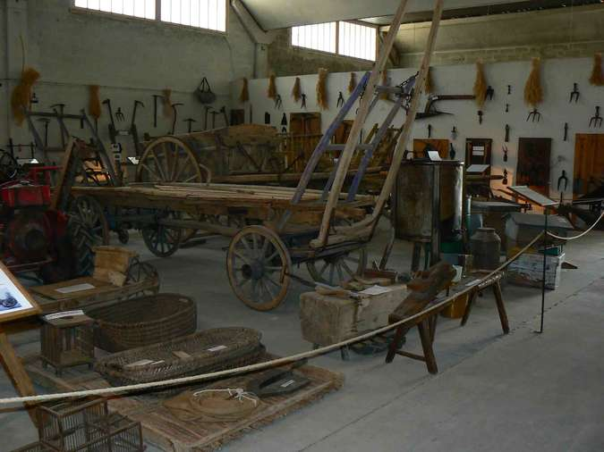 Visuel 1/4 : Lieu d'exposition de la mémoire agricole du pays de Grignan à Montjoyer