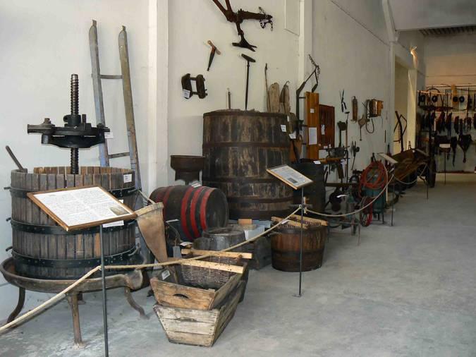 Visuel 3/4 : Lieu d'exposition de la mémoire agricole du pays de Grignan à Montjoyer