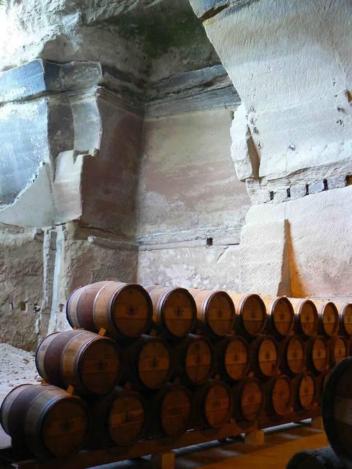 Visuel 1/3 : Carrières souterraines de Châteauneuf-sur-Isère