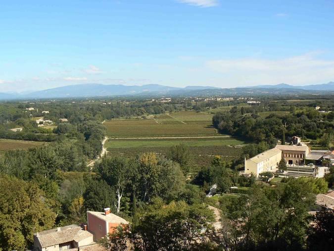 Visuel 1/4 : Plaines viticoles de Suze