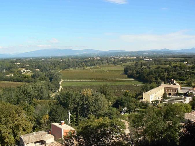 Visuel 3/4 : Plaines viticoles de Suze-la-Rousse