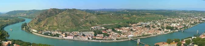 Visuel 3/3 : Coteaux viticoles à pentes de l'Hermitage