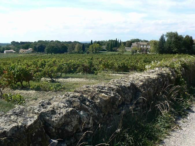 Visuel 3/4 : Murs de clôture à Grignan