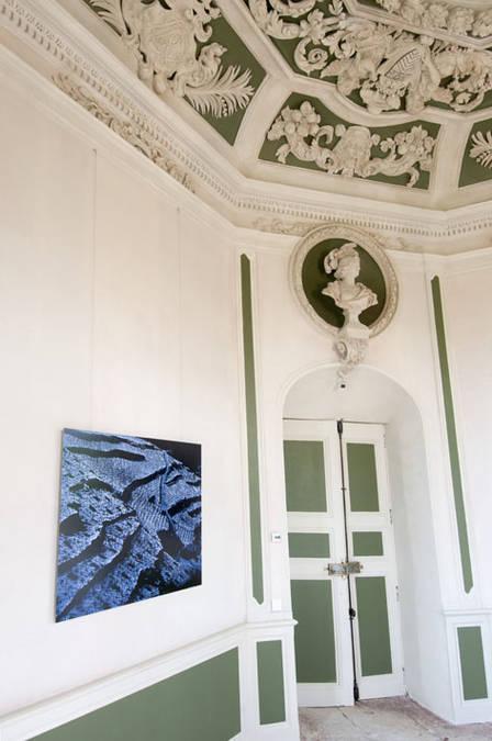 Visuel 2/3 : Décor du salon octogonal du château