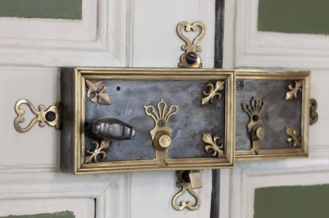 Visuel 2/3 : Décor du salon octogonal (château)