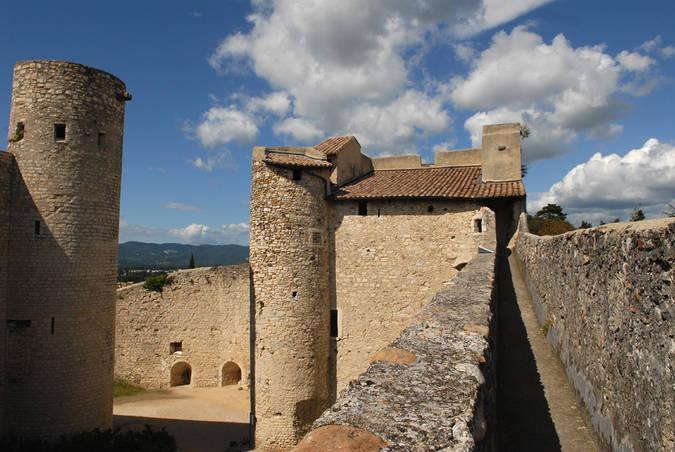 Visuel 1/4 : Château des Adhémar