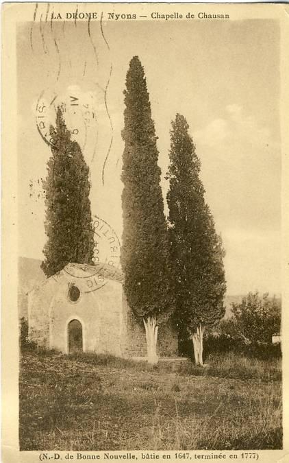 Visuel 1/4 : Chapelle de Chausan