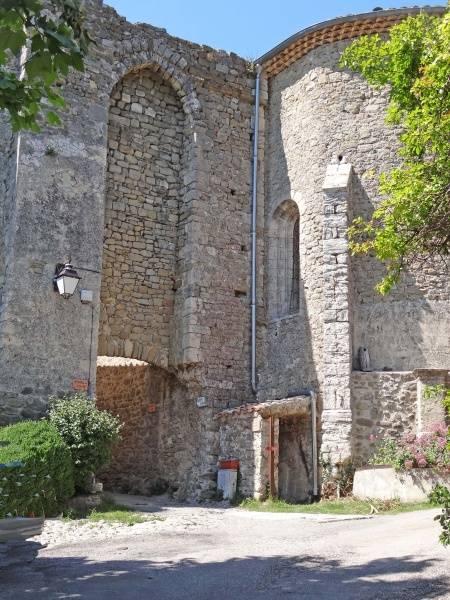 Visuel 1/1 : Église Saint-Pierre de Châteauneuf de Mazenc