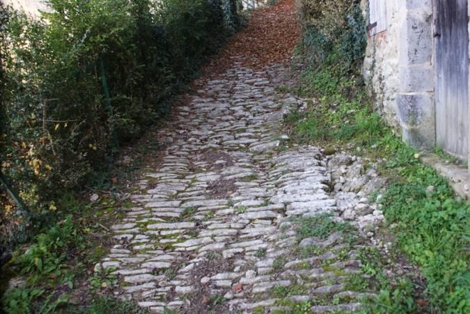 Visuel 2/2 : Voie romaine sur le canton de Saint-Jean-en-Royans