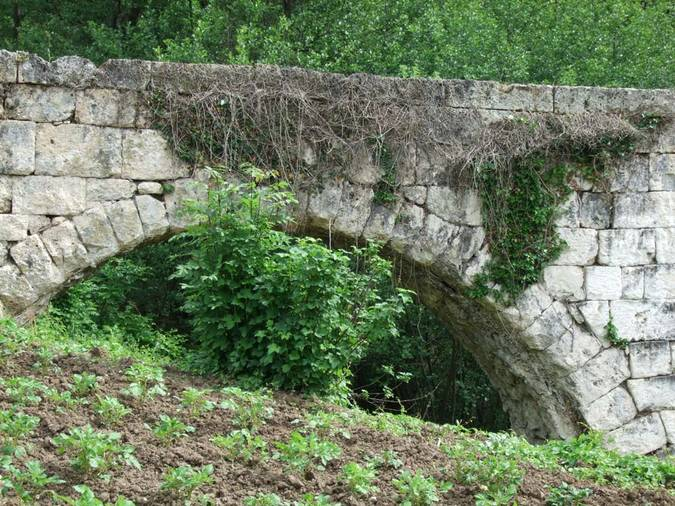 Visuel 2/3 : Aqueduc du « pont de la Dame »
