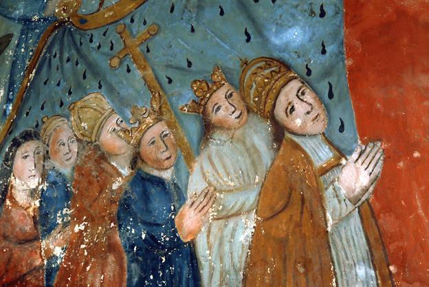 Visuel 5/9 : Peinture murale du 16e siècle (église Saint-Sébastien)