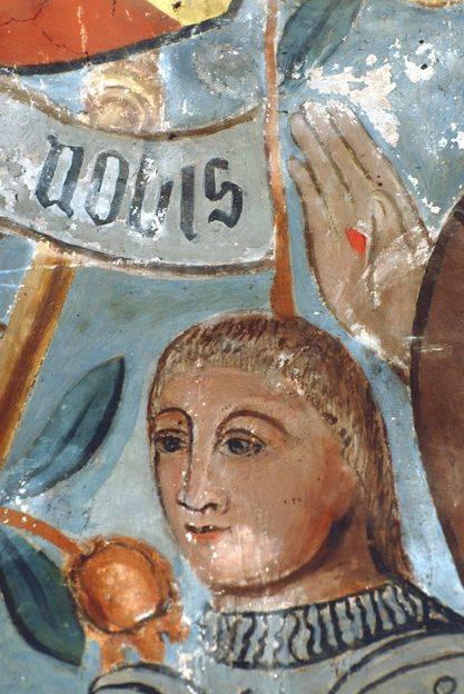 Visuel 7/9 : Peinture murale du 16e siècle (église Saint-Sébastien)