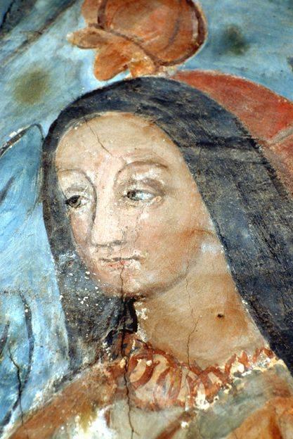 Visuel 8/9 : Peinture murale du 16e siècle (église Saint-Sébastien)