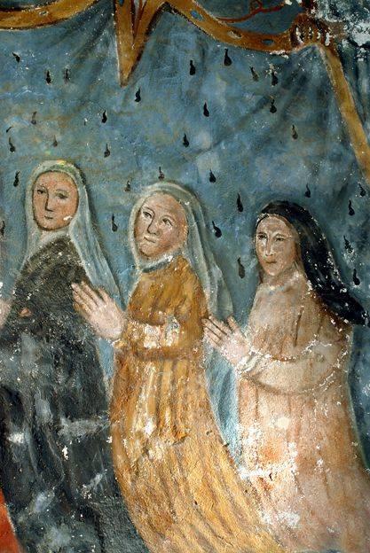 Visuel 9/9 : Peinture murale du 16e siècle (église Saint-Sébastien)