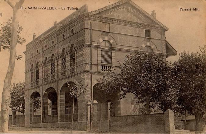 Visuel 1/3 : SAINT-VALLIER (26) - LA TUILERIE
