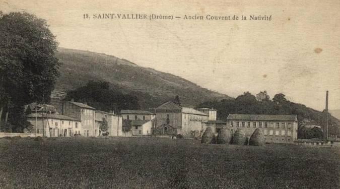 Visuel 4/5 : SAINT-VALLIER (26) - L'HÔPITAL, ANCIEN COUVENT DE PICPUS ET DE LA NATIVITE