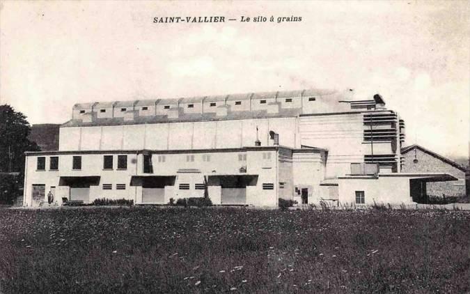Visuel 1/2 : SAINT-VALLIER (26) - LE SILO A GRAINS