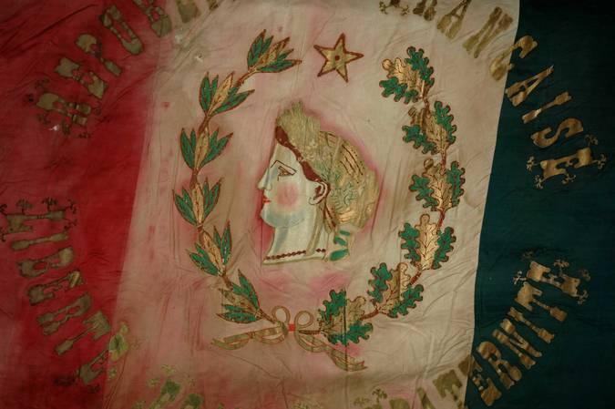 Visuel 9/10 : Collection de drapeaux des conscrits