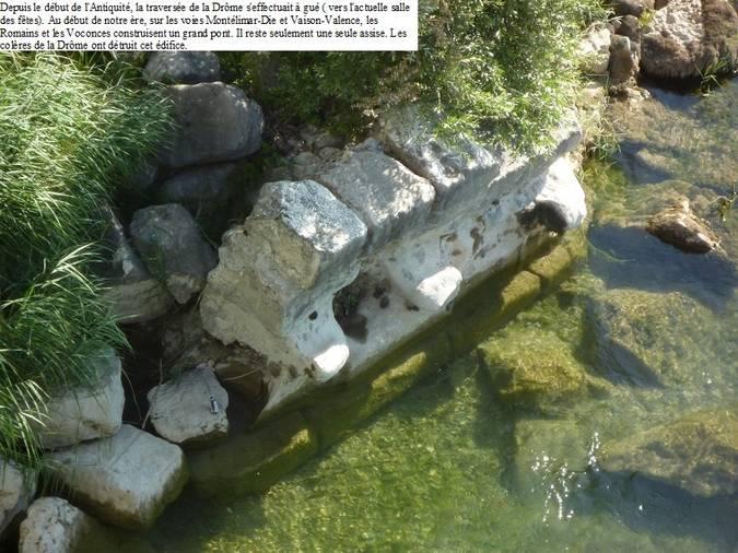 Visuel 1/1 : Vestiges du pont romain