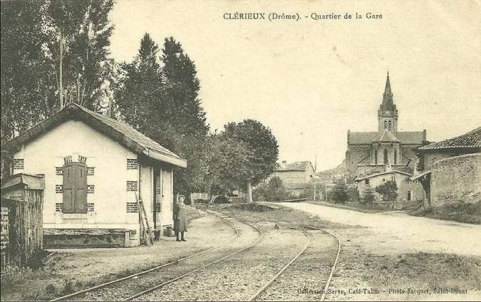 Visuel 1/3 : Gare du tramway ligne Romans-Saint Donat