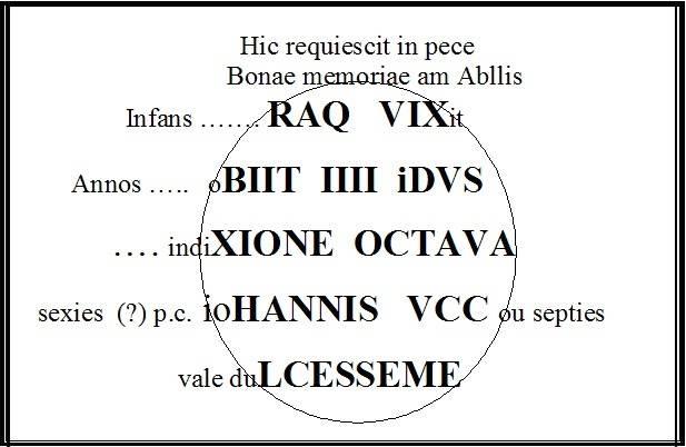 Visuel 1/2 : Stèle funéraire Gallo-romaine