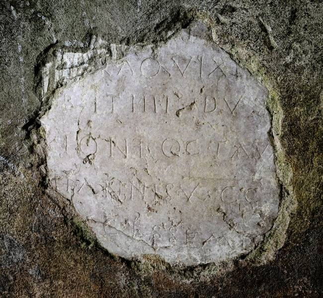 Visuel 2/2 : Stèle funéraire Gallo-romaine
