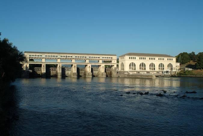 Visuel 1/3 : Barrage de Pizançon