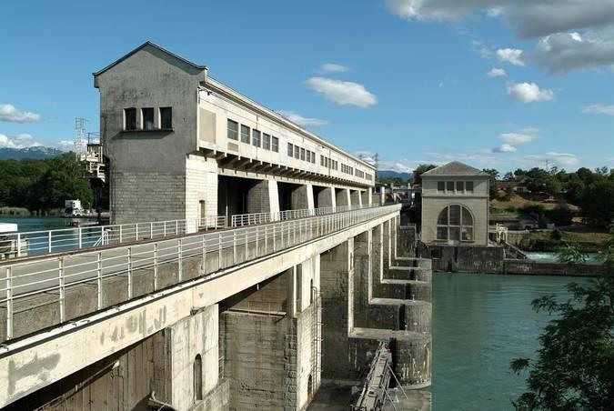 Visuel 2/3 : Barrage de Pizançon