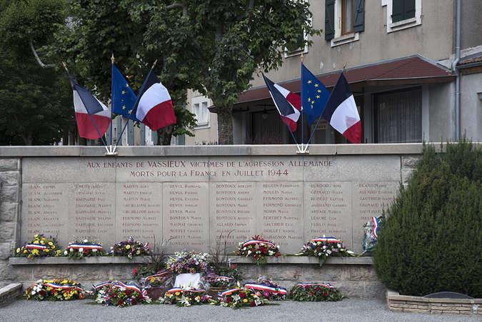 Visuel 2/2 : Martyrologe, monument aux morts 1939-1945