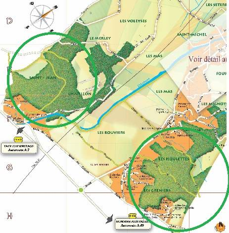 Visuel 4/4 : Site NATURA 2000 Sables de l'Herbasse