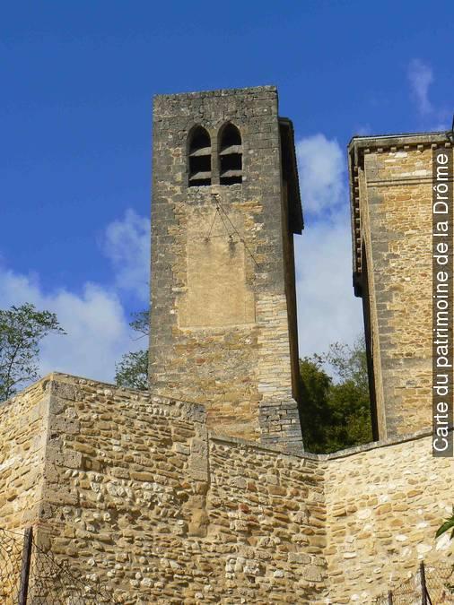 Visuel 1/1 : Clocher de l'ancienne église Saint-Andéol
