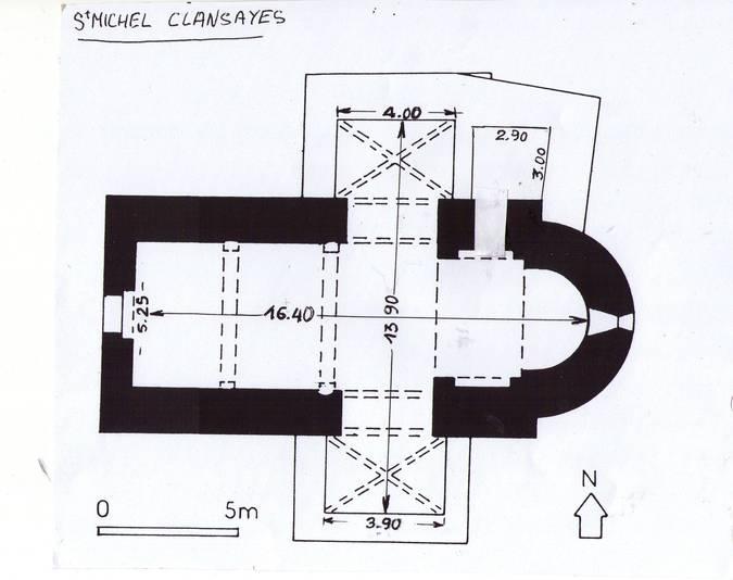 Visuel 6/9 : Église Saint-Michel de Clansayes