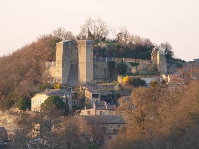 Visuel 3/5 : Chateau des comtes de Valentinois