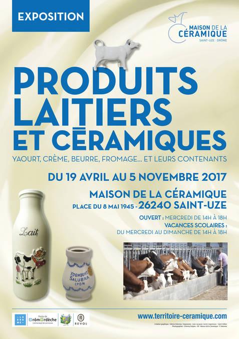 Visuel 1/2 : « Produits laitiers et céramiques » Yaourt, crème, beurre, fromage … et leurs contenants