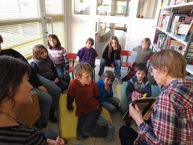 Visuel 12/13 : École de l'Esperance et Médiathèque