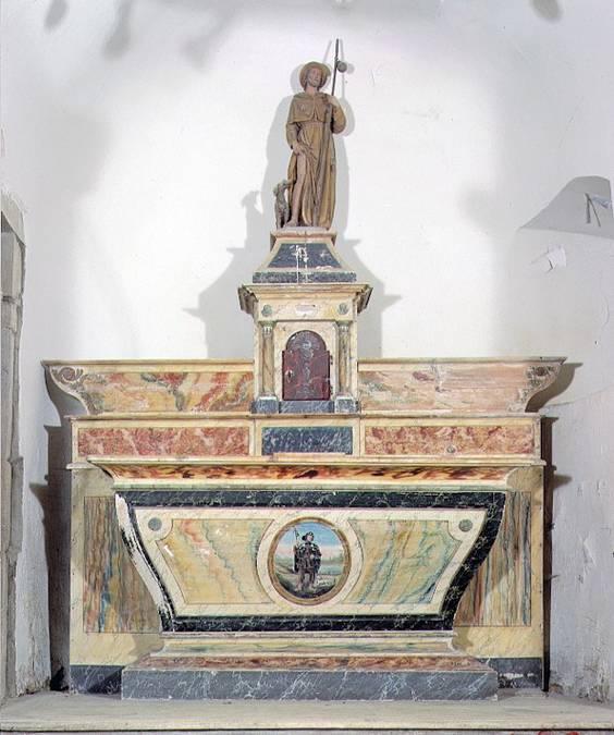 Visuel 3/4 : Chapelle Saint-Roch du mont de Véroux et son mobilier