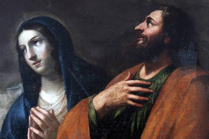 Visuel 2/3 : Les deux Familles du Christ, tableau de Guillaume Perrier (1648)