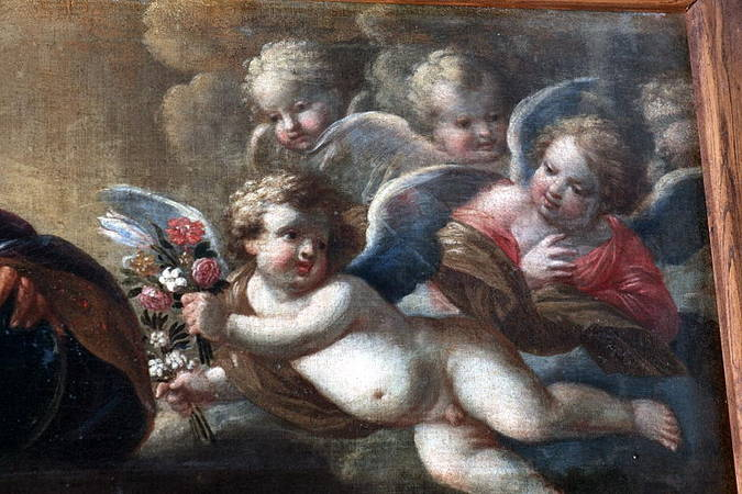 Visuel 3/3 : Les deux Familles du Christ, tableau de Guillaume Perrier (1648)