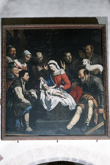 Visuel 2/4 : L'adoration des bergers, tableau attribué à Guy François