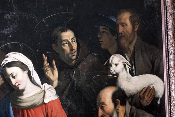 Visuel 3/4 : L'adoration des bergers, tableau attribué à Guy François