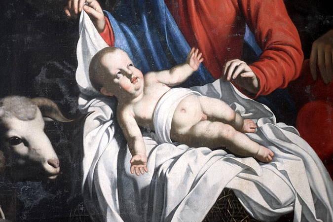 Visuel 4/4 : L'adoration des bergers, tableau attribué à Guy François