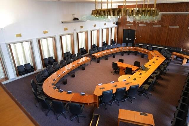 Visuel 1/3 : Salle de l'assemblée départementale Marius Moutet (hôtel du Département)