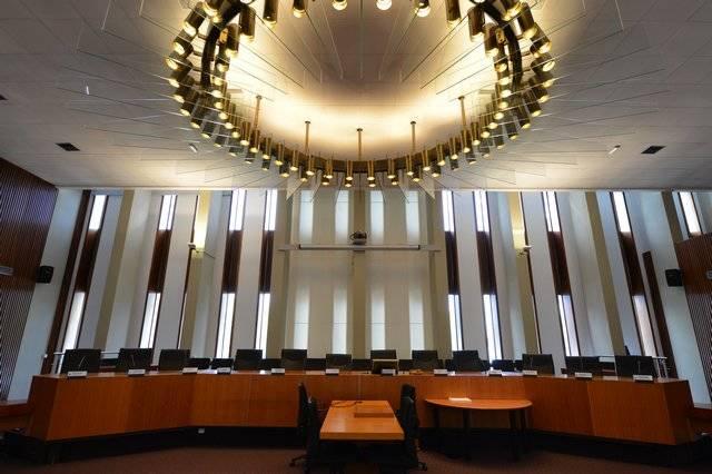 Visuel 2/3 : Salle de l'assemblée départementale Marius Moutet (hôtel du Département)