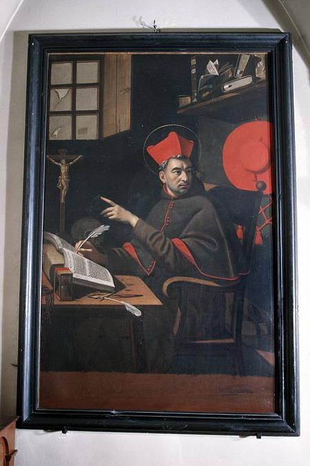 Visuel 1/3 : Saint Bonaventure dans son cabinet de travail