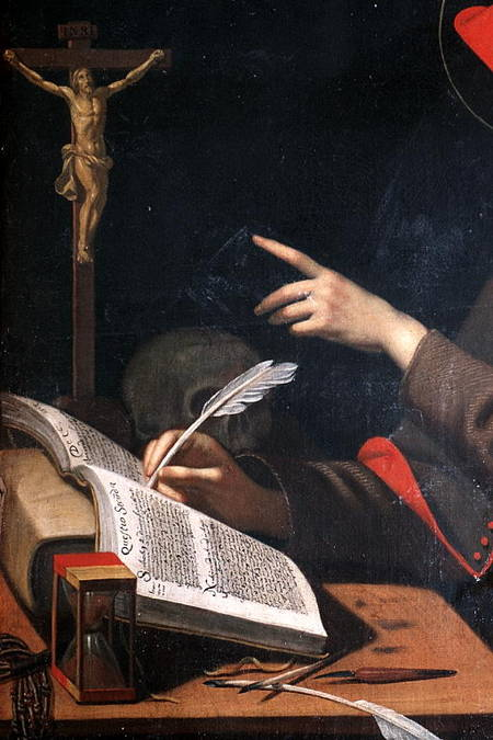 Visuel 2/3 : Saint Bonaventure dans son cabinet de travail