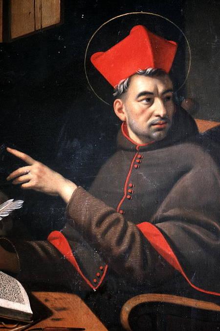 Visuel 3/3 : Saint Bonaventure dans son cabinet de travail