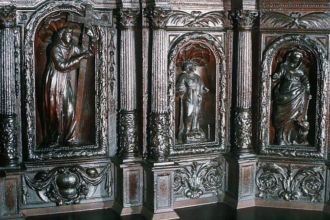 Visuel 3/7 : Ancien tabernacle du maître autel du couvent des Récollets de Nyons (église Saint-Vincent)
