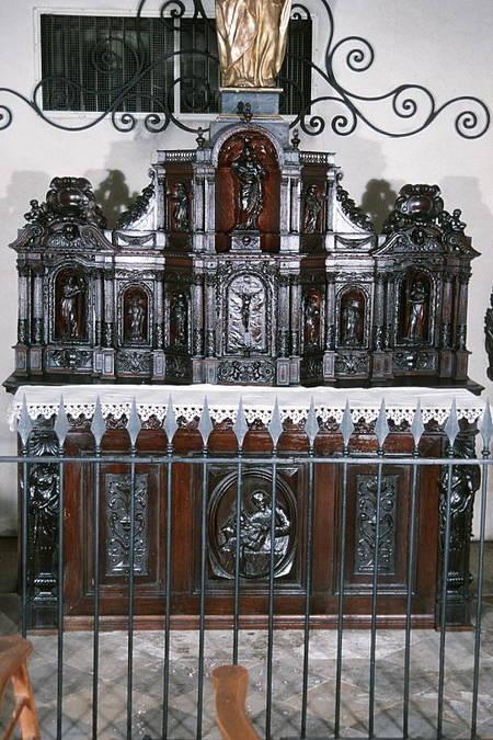 Visuel 4/7 : Ancien tabernacle du maître autel du couvent des Récollets de Nyons (église Saint-Vincent)